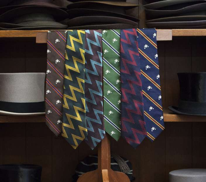 New & Lingwood by Crowley Vintage Tie Collection