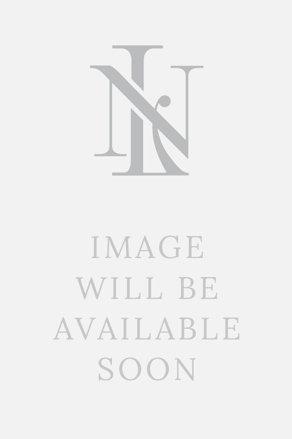 Light Blue Cable Knit Crew Neck Silk Sweater