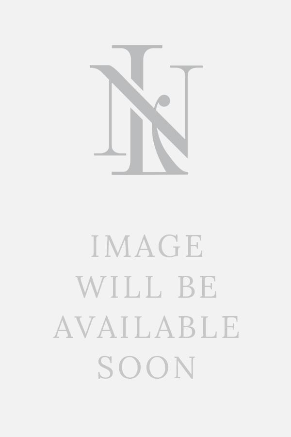 Blue Mini Check Brushed Cotton Cutaway Collar Single Cuff Casual Shirt
