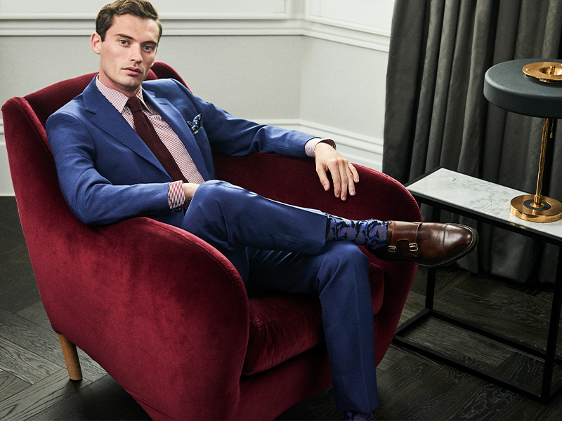 The lost art of dressing the business suit