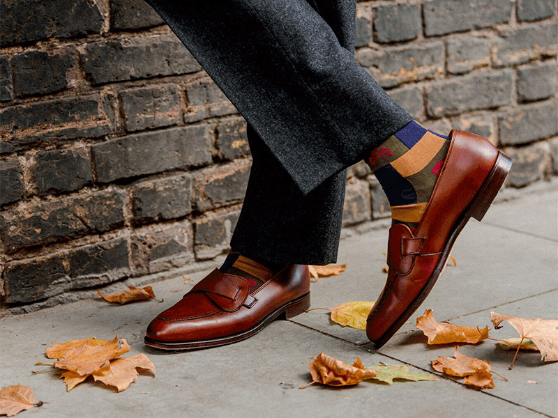 Sure footing; New & Lingwood's fine English shoes