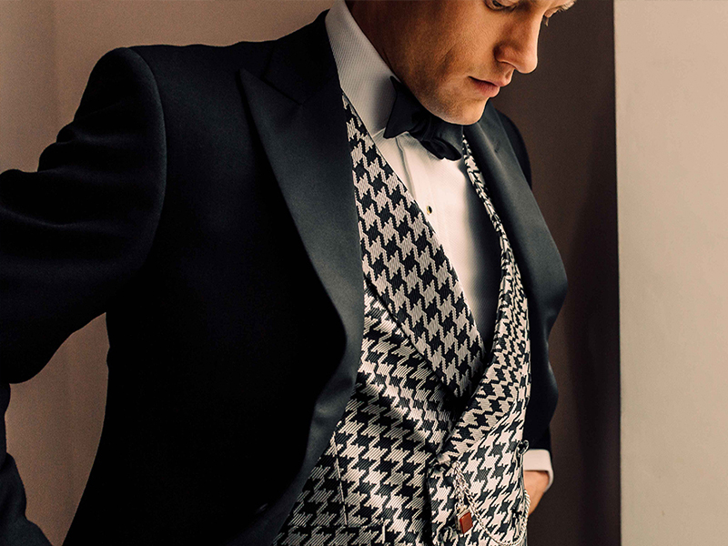 How wedding suits can showcase personality