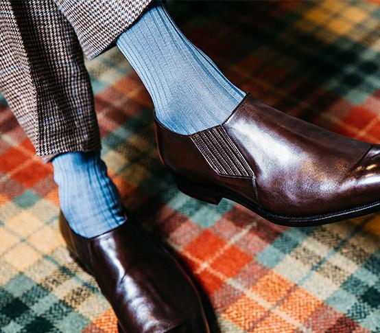 Chris Modoo Socks_3 New & Lingwood