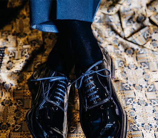 Chris Modoo Socks_5 New & Lingwood