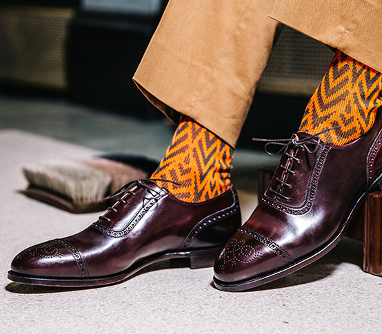 Chris Modoo Socks_4 New & Lingwood