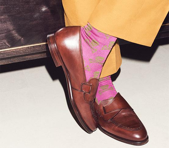 Chris Modoo Socks_2 New & Lingwood