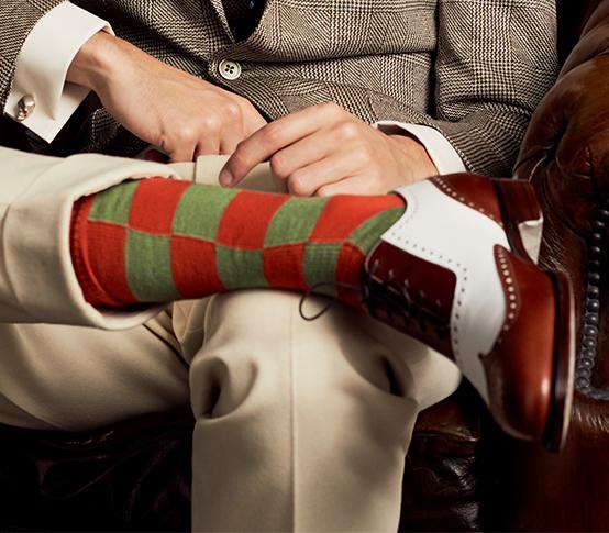 Chris Modoo Socks_1 New & Lingwood